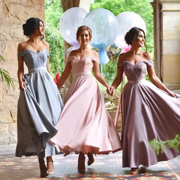 Off Shoulder Bridesmaid Dresses Tea Length Lace Applique Bridesmaid Girl'S Dress Ribbon Spring Custom Made A Line Bridesmaids Gowns Plus Size Bridesmaid Dresses Royal Blue Bridesmaid Dresses From Manweisi, $82.78| Dhgate.Com