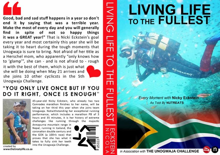 Unogwaja 2015: Living life to the Fullest with Nicky Eckstein « Nutreats