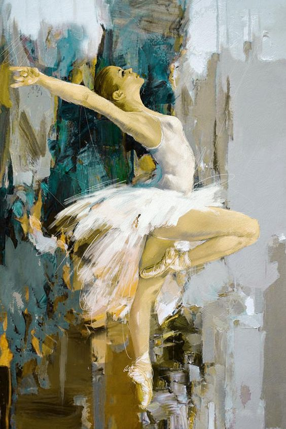 Divine Dance Paintings That Make You See The Movement In The Stillness - Bored Art