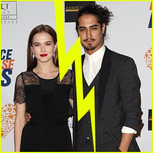 The former boyfriend and girlfriend couple; Avan Jogia and Zoey Deutch
