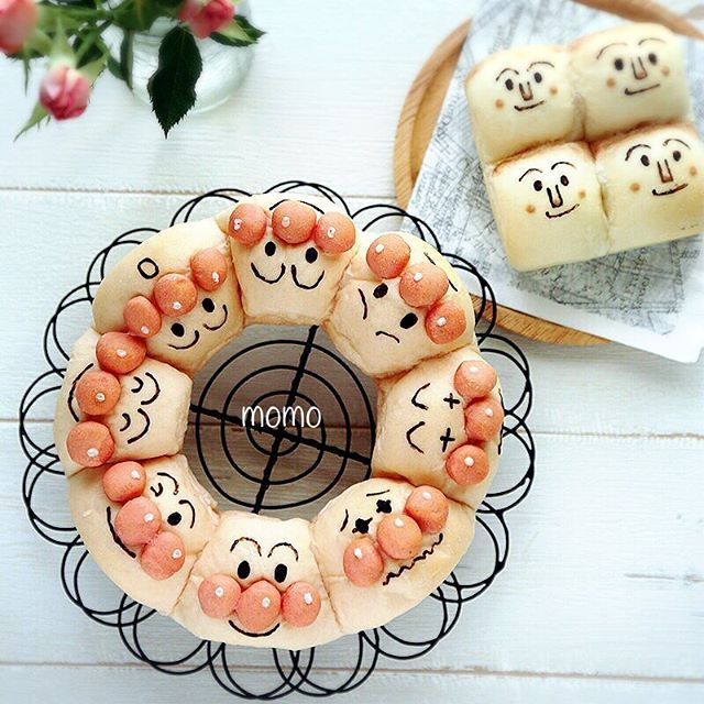 24 best anpanman images on pinterest funny food bento for Anpanman cake decoration