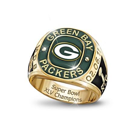 Packer Super Bowl Staff Rings