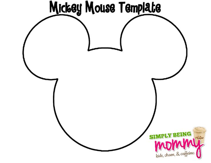 Image Result For Mickey Mouse Printable Template