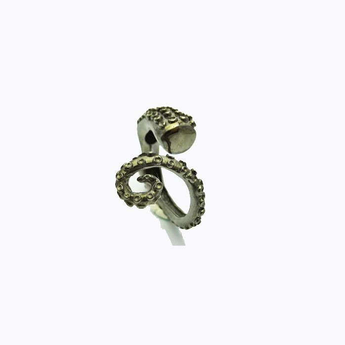 Octopus Ring   Cuff Ring   A.R.Werner