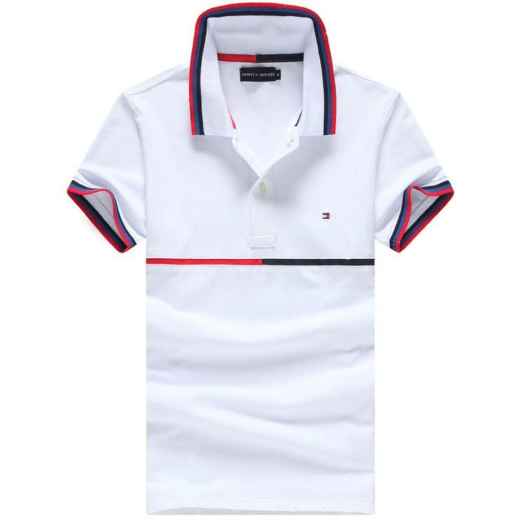 Tommy t-shirts for men, short sleeve cotton polos tshirts