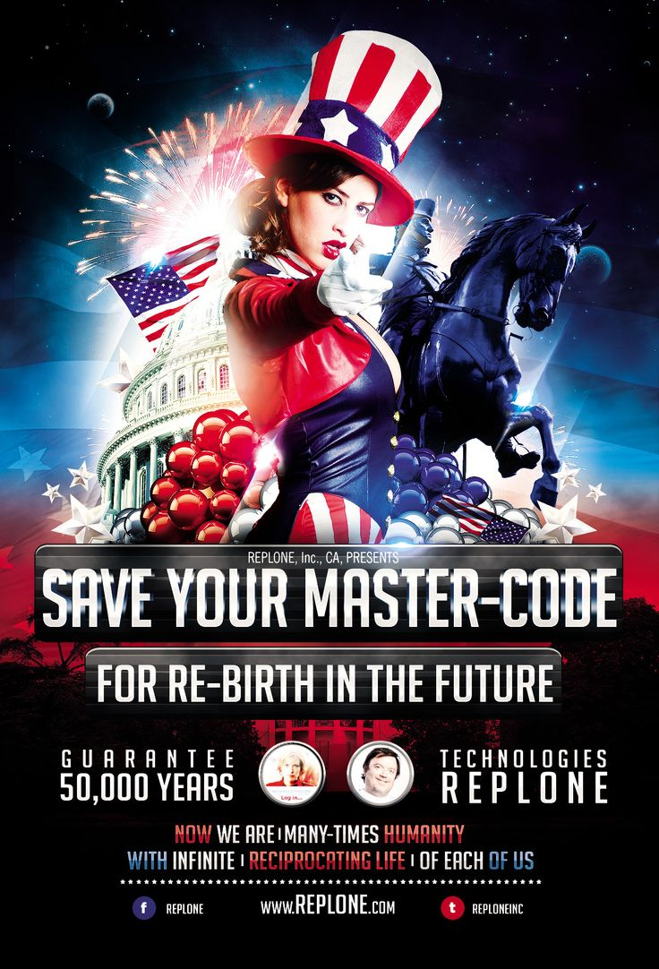 Save Your full MASTER-CODE® for Re-birth in the Future by Replone Technologies!
