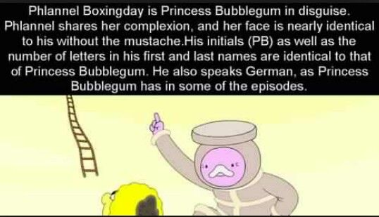 Adventure Time Theory - Plan new Boxingday vs. Princess Bubblegum... I'm a freaking fanatic