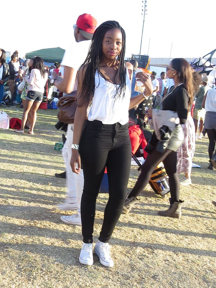 White T, Black jeans, Chucks; Homecoming Picnic, Centurion