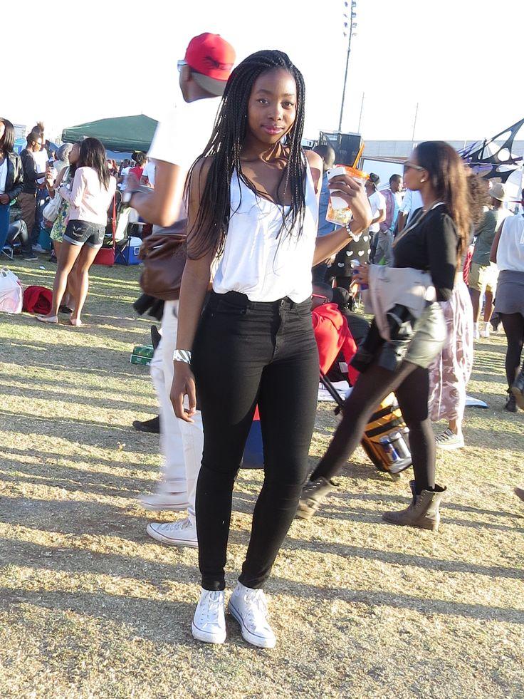 White T, Black jeans, Chucks; Homecoming Picnic, Centurion