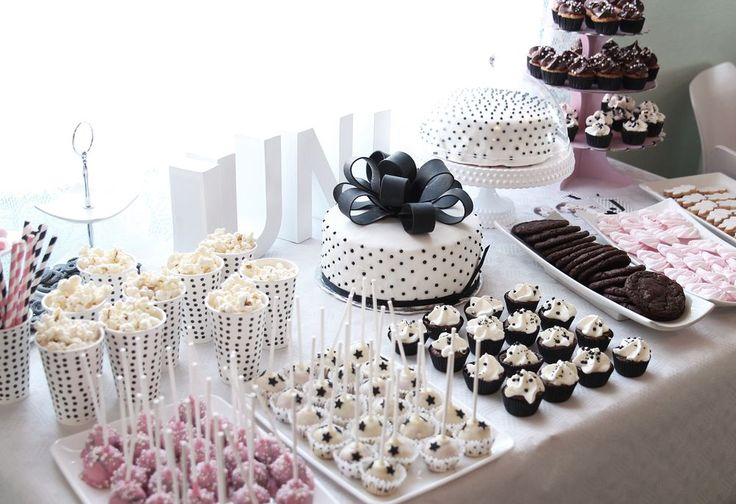 Therez.se - - #blackandwhite #sweets at my daughters #namingceremony