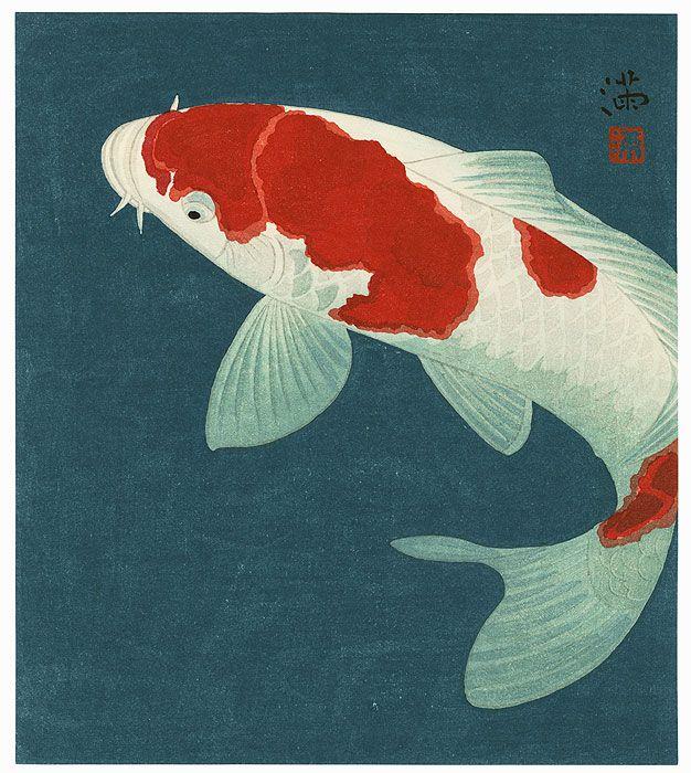 378 best japanese woodblock prints ukiyoe images on for Japanese koi art prints