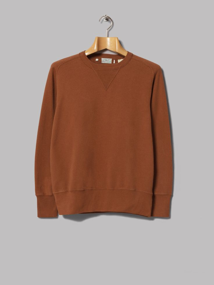 Levi's Vintage Clothing Bay Meadows Sweatshirt (Earth Brown)