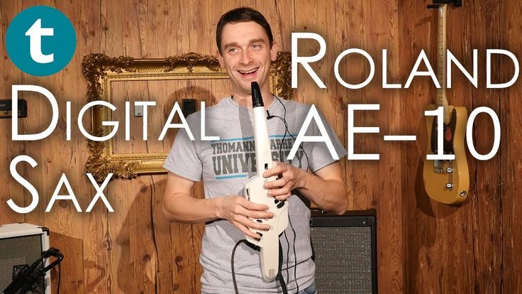Synths with a saxophone - why not? The Roland AE-10 combines the technique of a saxophone with digital sounds. #synths #studio #fun #crazy #video #youtuber #music #videos #musician #brass #sax #studio #synthesizer