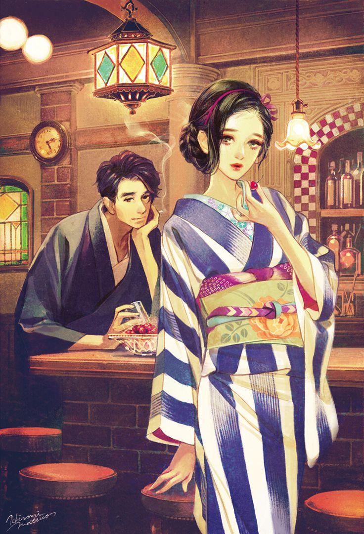 Matsuo Hiromi #art #kimono #japanese