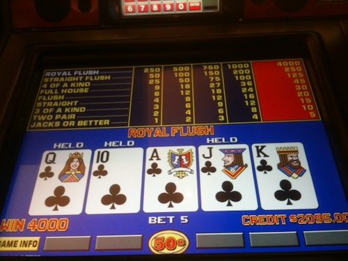 las vegas video poker games