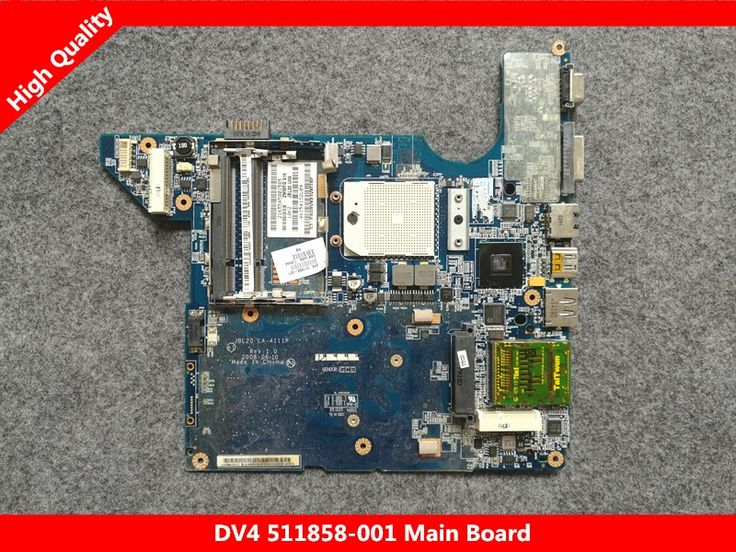 (45.00$)  Buy here - http://aikqs.worlditems.win/all/product.php?id=32769131932 - 511858-001 LA-4111P laptop Motherboard Fit For HP Pavilion DV4 DV4-1000 Notebook PC main board. 100% working
