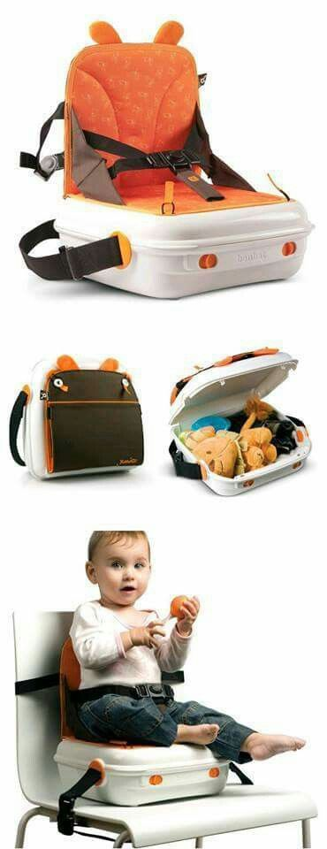 Portable booster seat suitcase