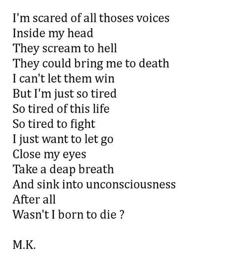 1000+ ideas about Poems About Depression on Pinterest ... Poems About Sadness Tumblr