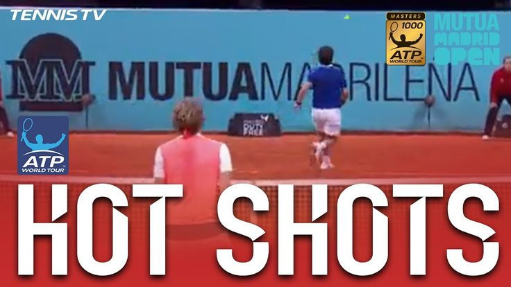 No look reverse forehand passing shot winner - Pablo Cuevas https://www.youtube.com/watch?v=gSj15Hds37g Love #sport follow #sports on @cutephonecases