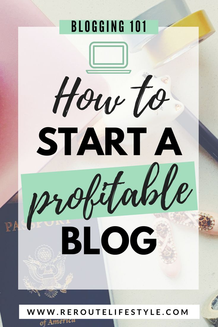 Starting a profitable blog seems like a far-fetched goal. But making money blogging online is totally and 100% possible. Follow this step-by-step guide and get started with your blog within minutes. Soon, you'll be able to work from home and travel the world blogging. (how to start a lifestyle blog; how to start a travel blog; how to start a fashion blog; how to start a mom blog; how to start a blog and make money from home)