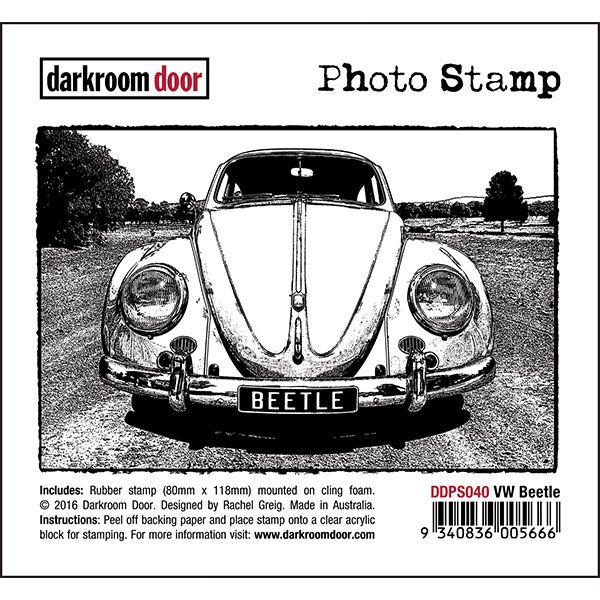 Darkroom Door Photo Stamp - VW Beetle