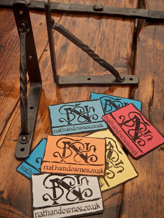 1 paire de forgeron fait Shelf Brackets par nathandownes sur Etsy