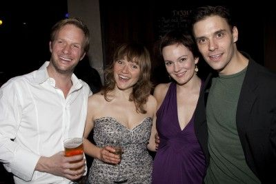 Rupert Penry-Jones. Rupert Penry-Jones (Carl), Jessica Hynes (Kate), Rachael Stirling (Rebecca), and Joseph Millson (Daniel) attend_the_after_party_on_press_night_for The Priory at_the_royal_court_theatre_london_england_on_26th_november_2009)