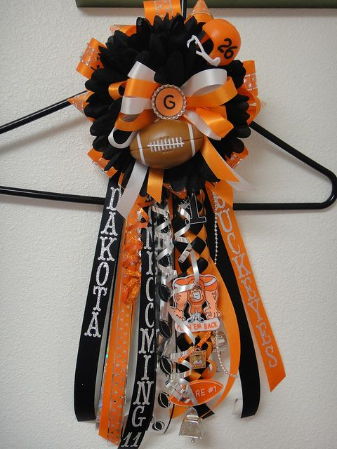Homecoming Garter 2011 by cynthsmthrmn, via Flickr