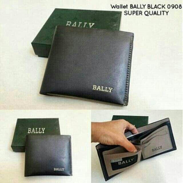 Temukan dan dapatkan Wallet BALLY BLACK 0908 SUPER QUALITY hanya Rp 140.000 di Shopee sekarang juga! #ShopeeID   http://shopee.co.id/wfashioncenter/1436267