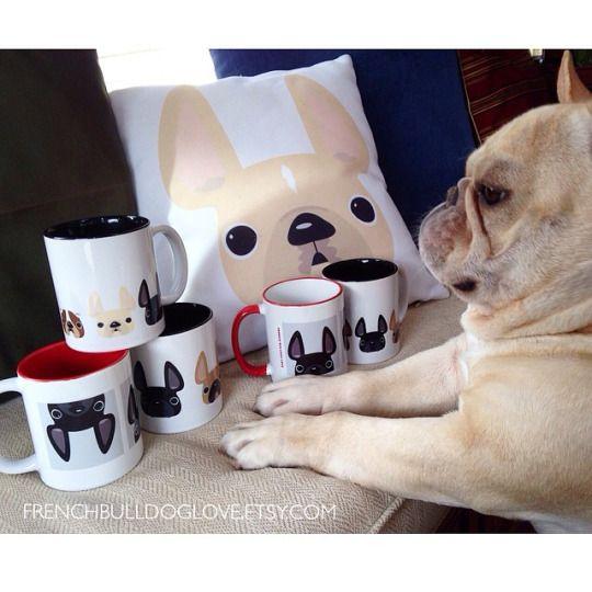 oh romeo. French Bulldog Products, via Etsy.com