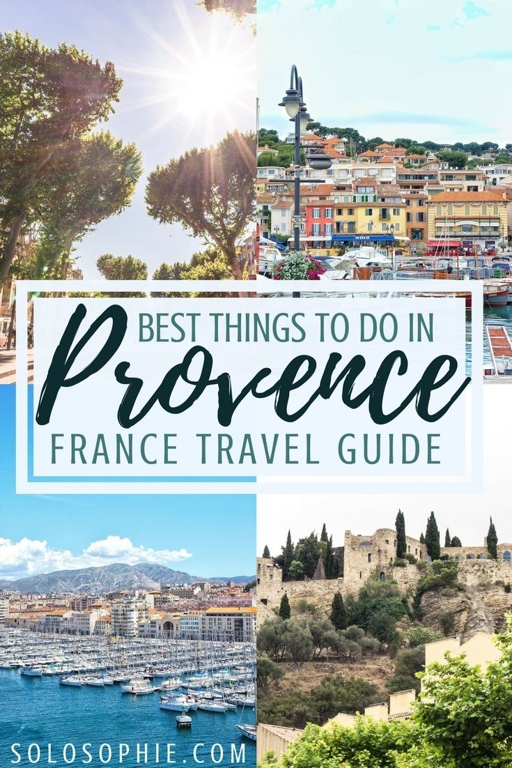 Best things to do in Provence, France. 20 Southern France attractions you simply can't miss when visiting Europe! Lavender fields, beautiful towns, local food, and more!