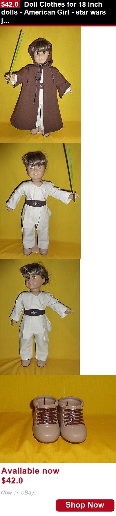 Telescope Cases And Bags: Doll Clothes For 18 Inch Dolls - American Girl - Star Wars Jedi Knight Outfit BUY IT NOW ONLY: $42.0