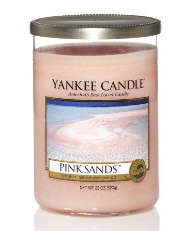 Look what I found on #zulily! Pink Sands 19-Oz. 5.6'' Two-Wick Tumbler Candle #zulilyfinds