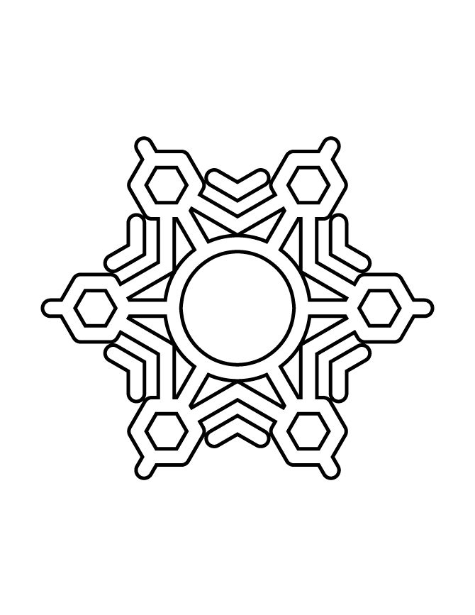 45 best Snowflakes images on Pinterest | Children coloring pages ...