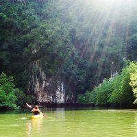 The sun is shining, weather is clear!  www.johngray-seacanoe.com  #johngrayseacanoe #lingyai #canoe #kayak #privatedaytrip #phuket #phangngabay #travel #adventure #phuketcanoeingtours