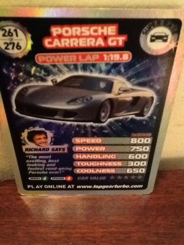 Top Gear Turbo Challenge SUPER RARE Porsche Carrera Gt 261/276