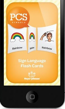 Get ready to sign with the PCS™ Sign Language App! Students will develop basic signing skills as they move through pairs of flashcards. One side of the flashcard will feature a PCS™ Symbol (e.g., Rainbow) and the other side will feature the sign language symbol for that particular PCS™.