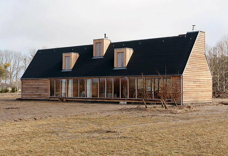 """Scheune mit Weitblick: """"Das schwarze Haus"""", Pinnow (Uckermark) - Die schönsten Design-Ferienhäuser 3 - [SCHÖNER WOHNEN]"""