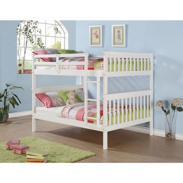 Mission Full Bunk Bed And Optional Storage Drawers Or Twin