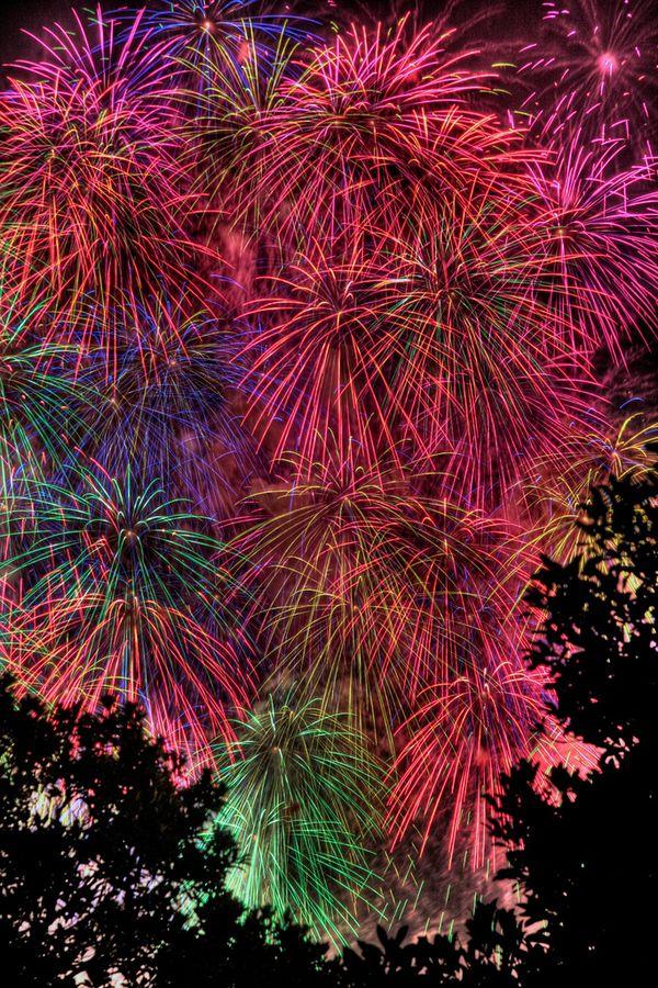 vva: I watched these fireworks for 11 years at  Yamashita Park, Yokohama Bay…