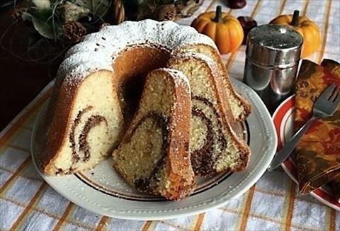 Picture of Recept - Bábovka z pomazánkového másla
