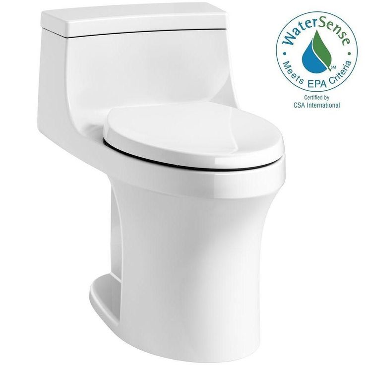 KOHLER San Souci 1-piece 1.28 GPF Single Flush Elongated Toilet in White-K-5172-RA-0 - The Home Depot