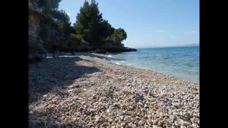 Baška Voda (Croatia), naše ubytování a pláž http://jhrdy.webgarden.cz/