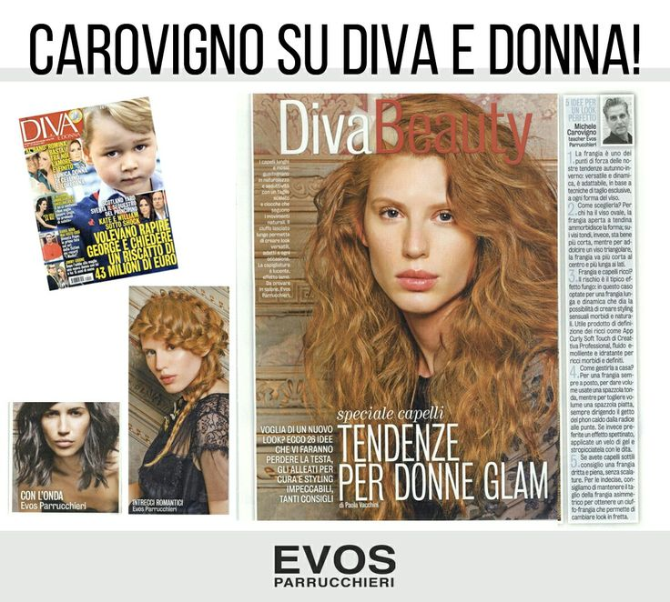 Su Diva e Donna le #tendenze per donne Glam con il contributo del nostro teacher & #hairstyst Michele Carovigno #Rockromance