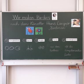 """""""BIRDIES nach Hans Langner"""" ... voran ging eine ...  """"BIRDIES n..."""