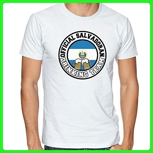 EL SALVADOR Fan Tshirt Salvadoran Drinking Team Tee Funny FLAG Pride Shirt - Cities countries flags shirts (*Amazon Partner-Link)
