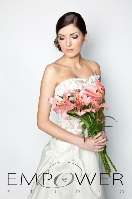 An example of what the empower bridal team is capable of! www.empowerstudio.ie #wedding #bride #gown #makeup #beauty
