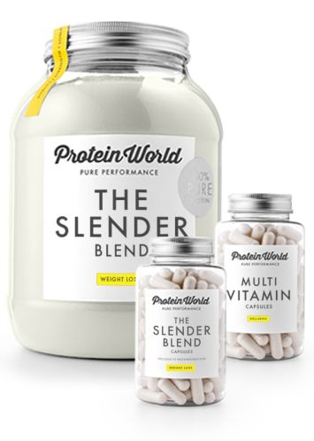 Protein World - The Slender Blend. ~~ Reviews on the site are great and I'm tempted to buy this right now but I will have to do some research before I buy something dangerous for my body