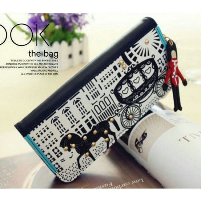 New Fashion Original Carriage Clutch Bag& Wallet for only $19.99 ,cheap Cute Clutches - Fashion Bags online shopping,New Fashion Original Carriage Clutch Bag& Wallet