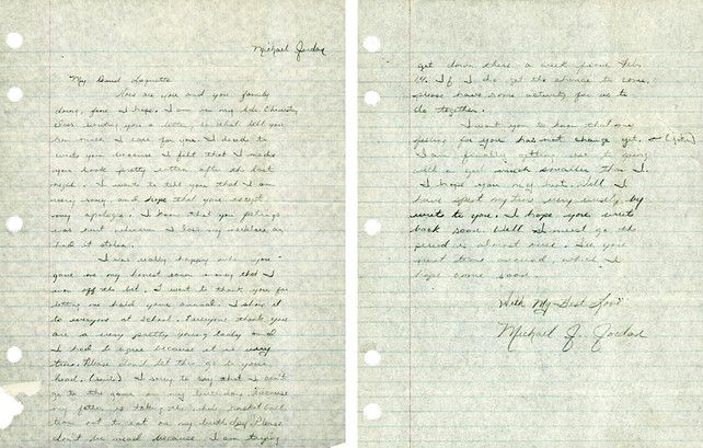 12 Hand-Written Love Letters From Famous People, From Henry VIII To M ...